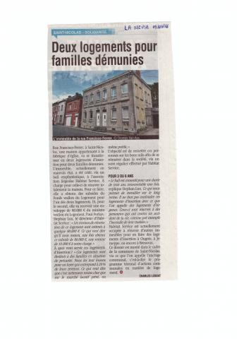 Article La Meuse 09/03/2016